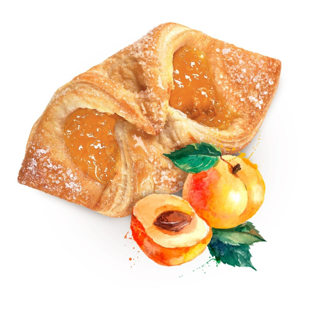 photo Fagottino with Apricot Filling