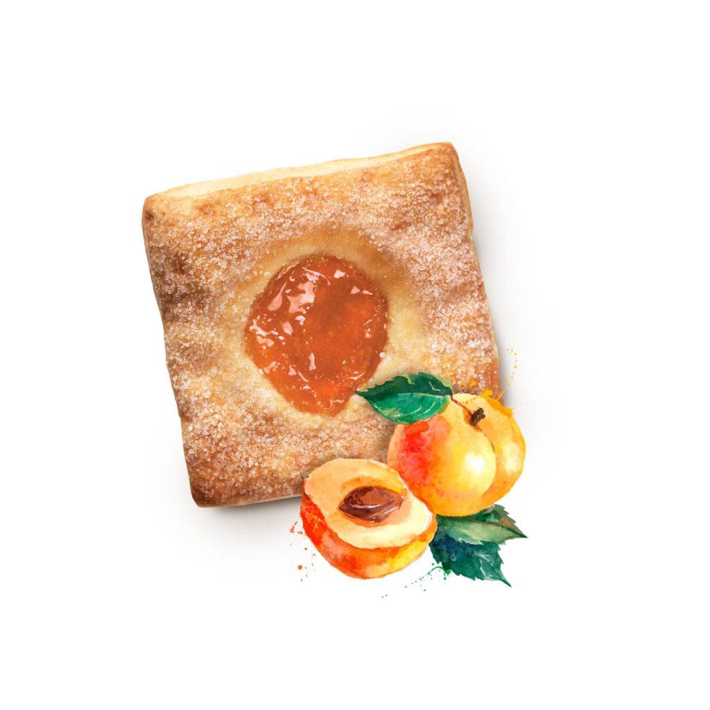 photo Quadruccini with Apricot Filling
