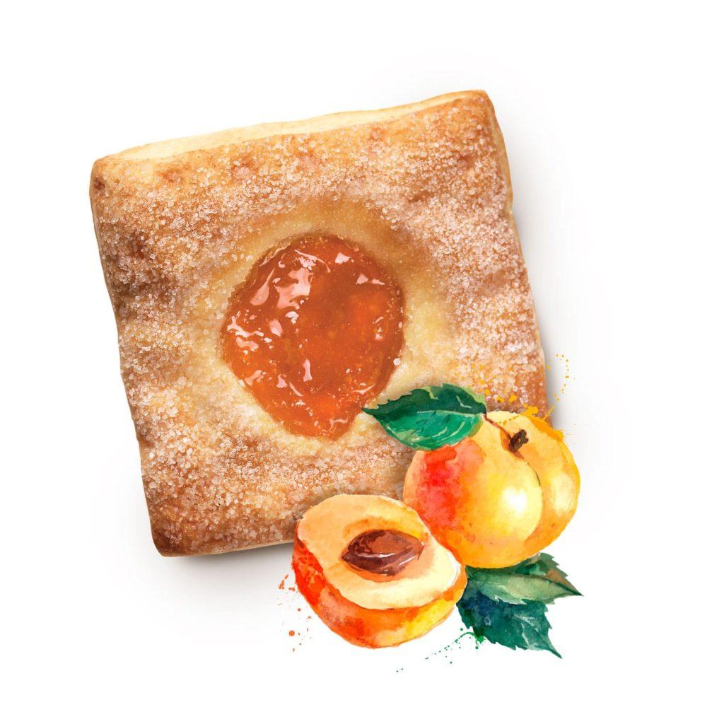 photo Quadrucci with Apricot Filling
