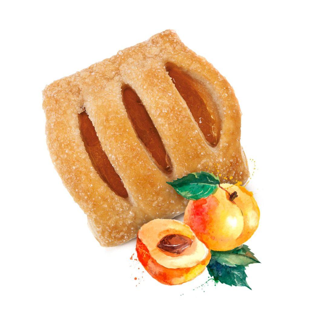 photo Mini strudel with Apricot Filling