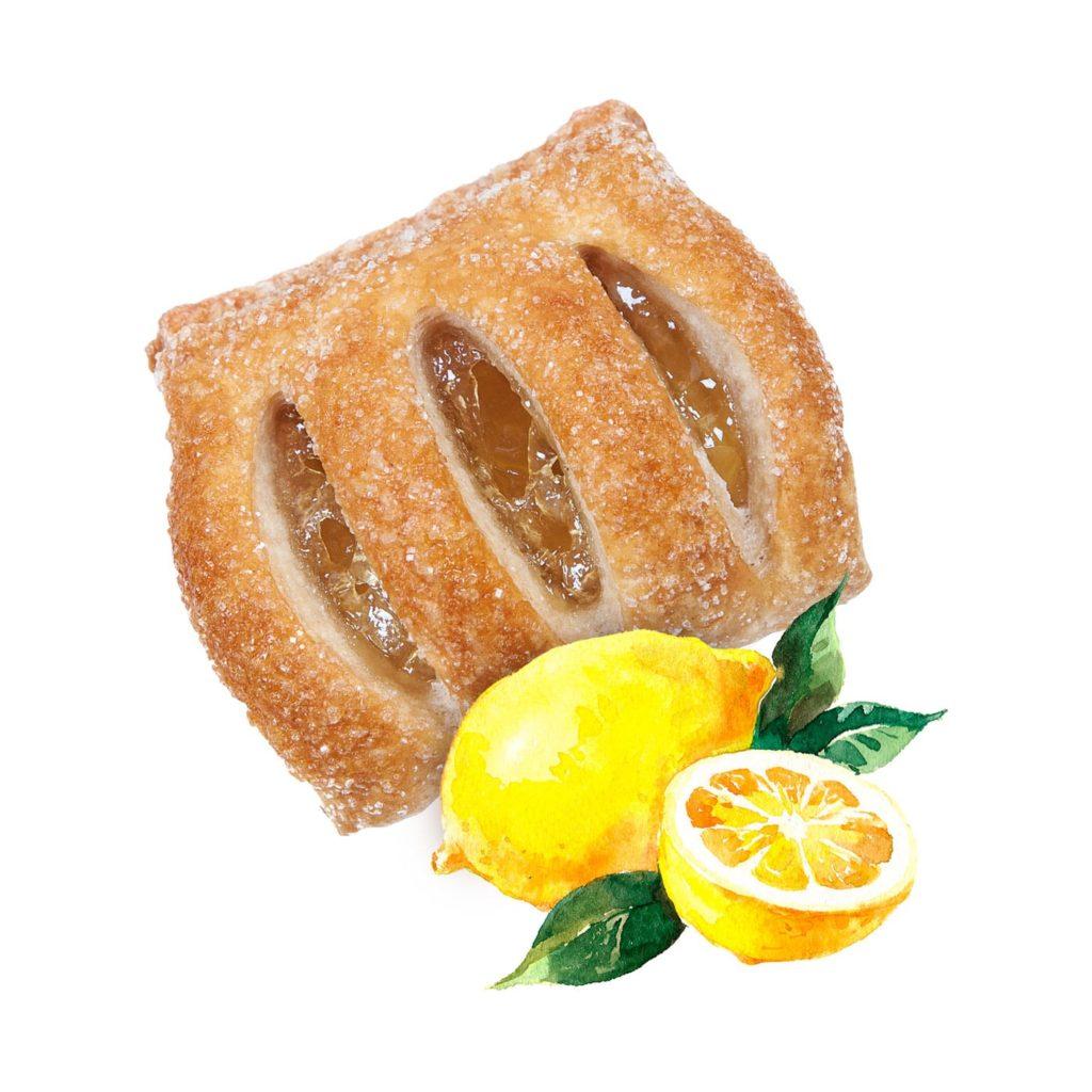 photo Mini strudel with Lemon Filling