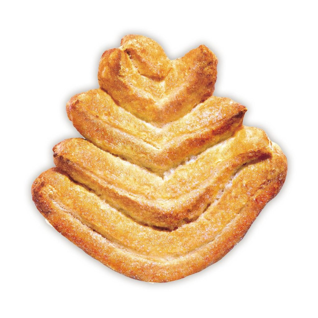 photo Puff pastry biscuits